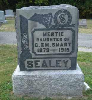 SMART SEALEY, MERTIE - Delaware County, Ohio | MERTIE SMART SEALEY - Ohio Gravestone Photos