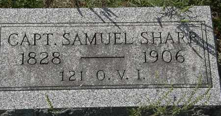SHARP, SAMUEL - Delaware County, Ohio | SAMUEL SHARP - Ohio Gravestone Photos