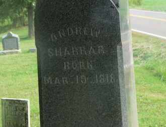 SHARRAR, ANDREW - Delaware County, Ohio | ANDREW SHARRAR - Ohio Gravestone Photos