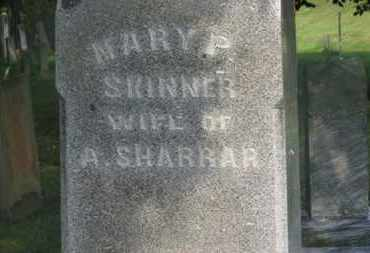 SKINNER SHARRAR, MARY P. - Delaware County, Ohio | MARY P. SKINNER SHARRAR - Ohio Gravestone Photos