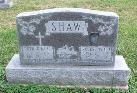 SHAW, ROBERT PHILO - Delaware County, Ohio | ROBERT PHILO SHAW - Ohio Gravestone Photos