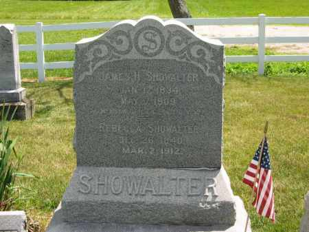 SHOWWALTER, REBECCA - Delaware County, Ohio | REBECCA SHOWWALTER - Ohio Gravestone Photos