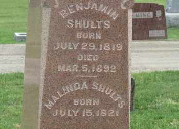 SHULTS, MALINDA - Delaware County, Ohio | MALINDA SHULTS - Ohio Gravestone Photos