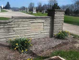 SIGN, CEMETERY - Delaware County, Ohio   CEMETERY SIGN - Ohio Gravestone Photos