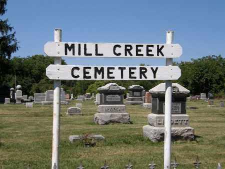 SIGN, CEMETERY - Delaware County, Ohio | CEMETERY SIGN - Ohio Gravestone Photos