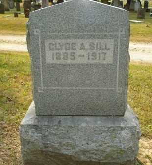 SILL, CLYDE A. - Delaware County, Ohio | CLYDE A. SILL - Ohio Gravestone Photos