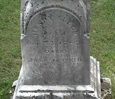 SLACK, HENRY - Delaware County, Ohio | HENRY SLACK - Ohio Gravestone Photos