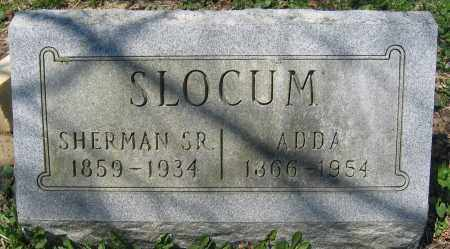 SLOCUM, SR., SHERMAN - Delaware County, Ohio | SHERMAN SLOCUM, SR. - Ohio Gravestone Photos