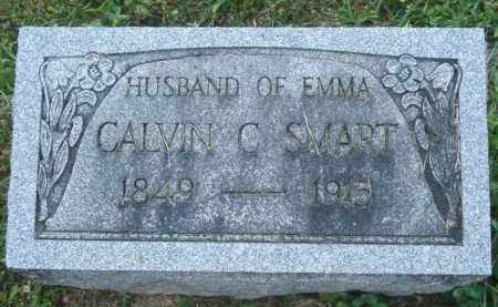 SMART, CALVIN C - Delaware County, Ohio | CALVIN C SMART - Ohio Gravestone Photos