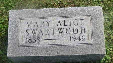 SMARTWOOD, MARY ALICE - Delaware County, Ohio | MARY ALICE SMARTWOOD - Ohio Gravestone Photos