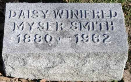 SMITH, DAISY WINIFRED - Delaware County, Ohio | DAISY WINIFRED SMITH - Ohio Gravestone Photos