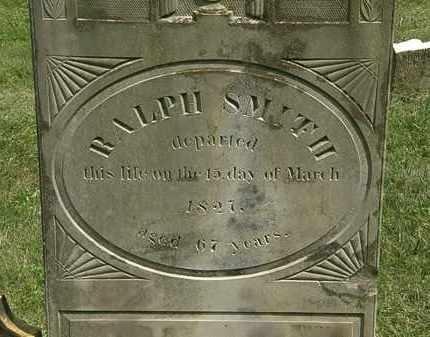 SMITH, RALPH - Delaware County, Ohio   RALPH SMITH - Ohio Gravestone Photos
