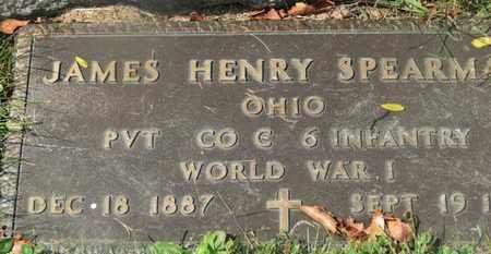 SPEARMAN, JAMES HENRY - Delaware County, Ohio | JAMES HENRY SPEARMAN - Ohio Gravestone Photos