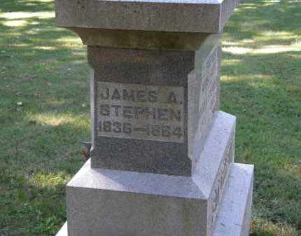 STEPHEN, JAMES A. - Delaware County, Ohio | JAMES A. STEPHEN - Ohio Gravestone Photos