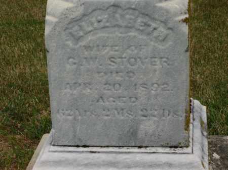 STOVER, ELIZABETH - Delaware County, Ohio | ELIZABETH STOVER - Ohio Gravestone Photos
