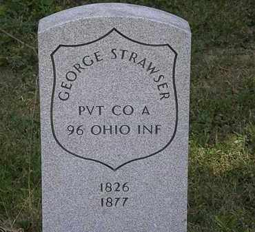 STRAWSER, GEORGE - Delaware County, Ohio | GEORGE STRAWSER - Ohio Gravestone Photos