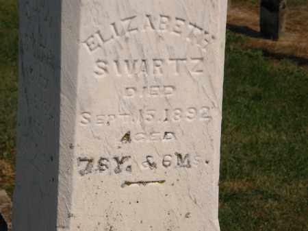 SWARTZ, ELIZABETH - Delaware County, Ohio | ELIZABETH SWARTZ - Ohio Gravestone Photos