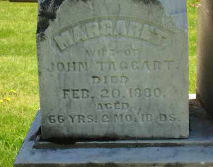 TAGGART, MARGARET - Delaware County, Ohio | MARGARET TAGGART - Ohio Gravestone Photos