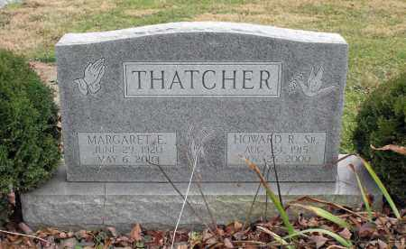 THATCHER, HOWARD R. - Delaware County, Ohio | HOWARD R. THATCHER - Ohio Gravestone Photos