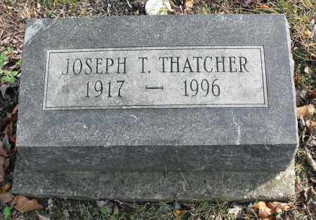 THATCHER, JOSEPH THOMAS - Delaware County, Ohio | JOSEPH THOMAS THATCHER - Ohio Gravestone Photos