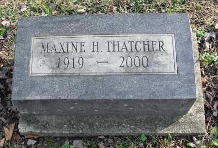 HALL THATCHER, MAXINE - Delaware County, Ohio | MAXINE HALL THATCHER - Ohio Gravestone Photos