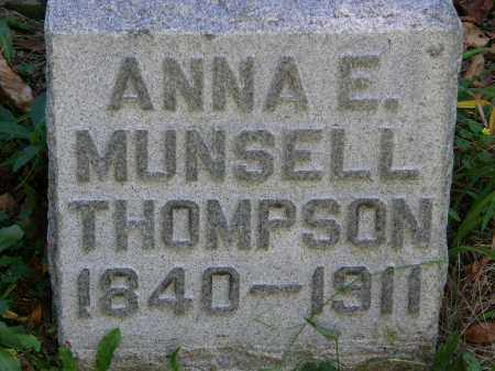 THOMPSON, ANNA E. - Delaware County, Ohio | ANNA E. THOMPSON - Ohio Gravestone Photos