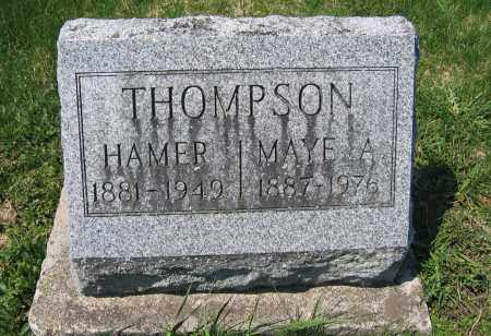 THOMPSON, MAYE A. - Delaware County, Ohio | MAYE A. THOMPSON - Ohio Gravestone Photos