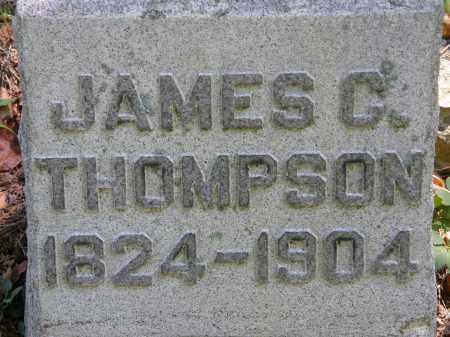 THOMPSON, JAMES C. - Delaware County, Ohio | JAMES C. THOMPSON - Ohio Gravestone Photos