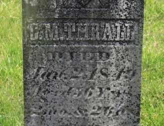 THRALL, C.M. - Delaware County, Ohio | C.M. THRALL - Ohio Gravestone Photos