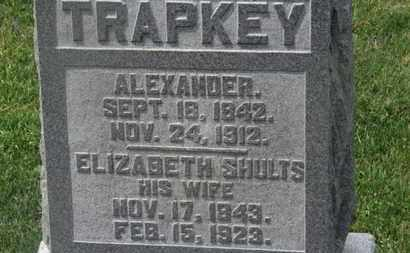 SHULTS TRAPKEY, ELIZABETH - Delaware County, Ohio | ELIZABETH SHULTS TRAPKEY - Ohio Gravestone Photos