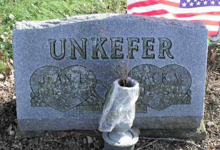 UNKEFER, JACK M. - Delaware County, Ohio | JACK M. UNKEFER - Ohio Gravestone Photos