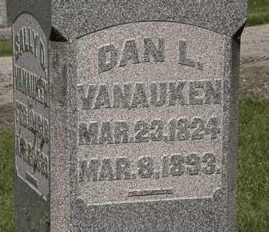VANAUKEN, DANL. - Delaware County, Ohio | DANL. VANAUKEN - Ohio Gravestone Photos
