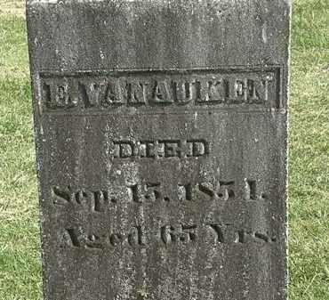 VANAUKEN, E. - Delaware County, Ohio | E. VANAUKEN - Ohio Gravestone Photos