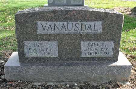 VANAUSDAL, EMMETT ERNEST - Delaware County, Ohio | EMMETT ERNEST VANAUSDAL - Ohio Gravestone Photos