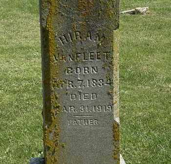VANFLEET, HIRAM - Delaware County, Ohio | HIRAM VANFLEET - Ohio Gravestone Photos