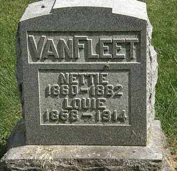 VANFLEET, LOUIE - Delaware County, Ohio | LOUIE VANFLEET - Ohio Gravestone Photos