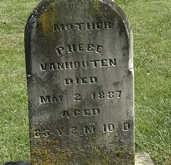 VANHOUTEN, PHEBE - Delaware County, Ohio | PHEBE VANHOUTEN - Ohio Gravestone Photos