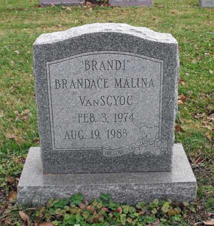 VANSCYOC, BRANDACE MALINA - Delaware County, Ohio | BRANDACE MALINA VANSCYOC - Ohio Gravestone Photos