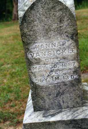 COURTRIGHT VANSICKLE, HANNAH - Delaware County, Ohio | HANNAH COURTRIGHT VANSICKLE - Ohio Gravestone Photos