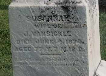 VANSICKLE, J. - Delaware County, Ohio | J. VANSICKLE - Ohio Gravestone Photos