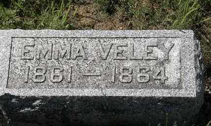 VELEY, EMMA - Delaware County, Ohio | EMMA VELEY - Ohio Gravestone Photos