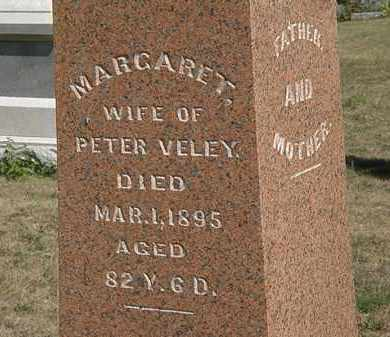 VELEY, PETER - Delaware County, Ohio | PETER VELEY - Ohio Gravestone Photos