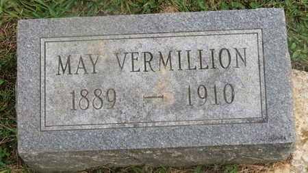 VERMILLION, MAY - Delaware County, Ohio | MAY VERMILLION - Ohio Gravestone Photos