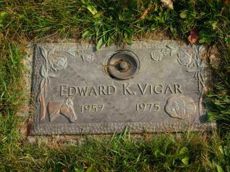 VIGAR, EDWARD K. - Delaware County, Ohio | EDWARD K. VIGAR - Ohio Gravestone Photos