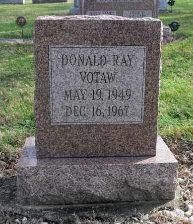 VOTAW, DONALD RAY - Delaware County, Ohio | DONALD RAY VOTAW - Ohio Gravestone Photos