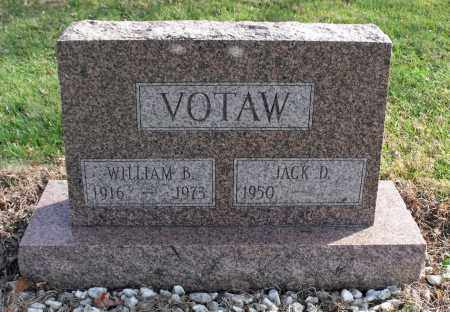VOTAW, WILLIAM B. - Delaware County, Ohio | WILLIAM B. VOTAW - Ohio Gravestone Photos
