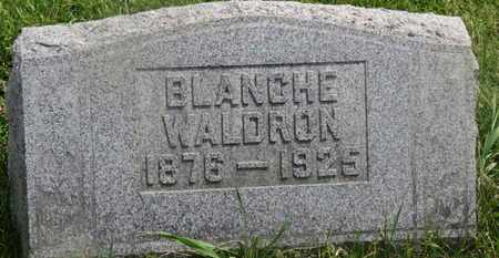 WALDRON, BLANCHE - Delaware County, Ohio | BLANCHE WALDRON - Ohio Gravestone Photos
