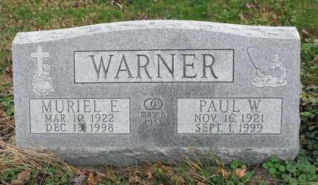 WARNER, MURIEL ERDINE - Delaware County, Ohio | MURIEL ERDINE WARNER - Ohio Gravestone Photos