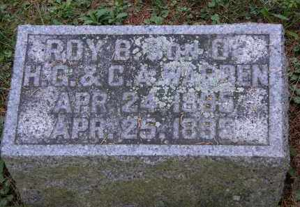 WARREN, ROY. B. - Delaware County, Ohio | ROY. B. WARREN - Ohio Gravestone Photos