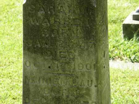 WARREN, SARAH M. - Delaware County, Ohio | SARAH M. WARREN - Ohio Gravestone Photos